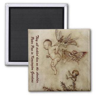 Peter Pan Arthur Rackham Illustration Magnet