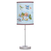 Peter Pan Flying over Neverland Desk Lamp