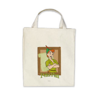 Peter Pan - Frame Canvas Bags