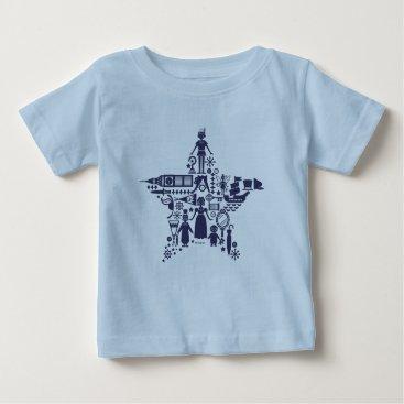 Disney Themed Peter Pan & Friends Star Baby T-Shirt