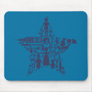Peter Pan & Friends Star Mouse Pad