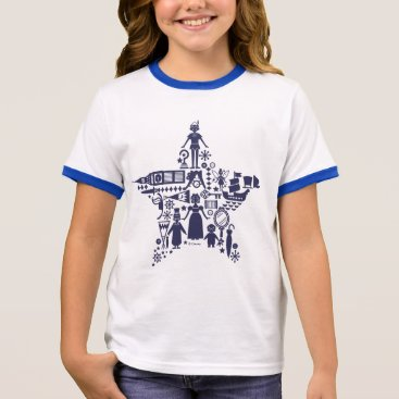Disney Themed Peter Pan & Friends Star Ringer T-Shirt
