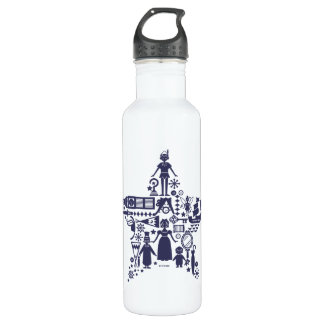 Peter Pan & Friends Star Stainless Steel Water Bottle