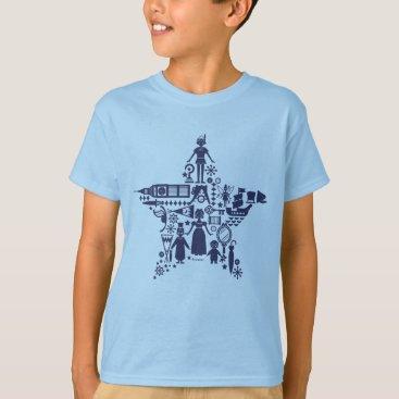 Disney Themed Peter Pan & Friends Star T-Shirt