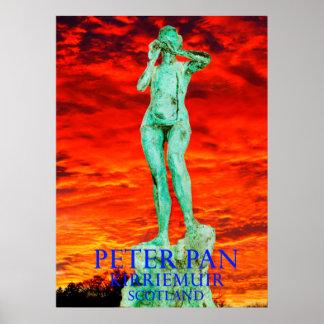 peter pan kirriemuir scotland poster