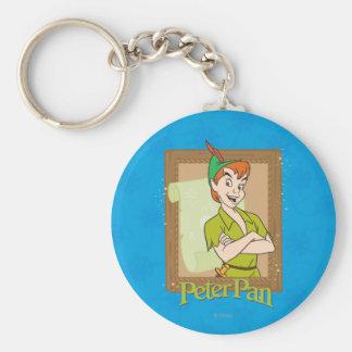 Peter Pan - marco Llavero Redondo Tipo Pin