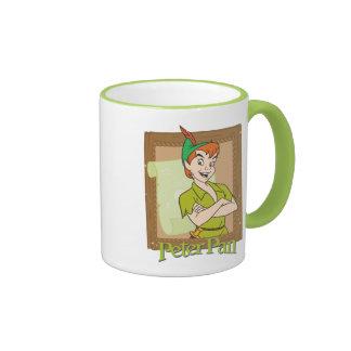 Peter Pan - marco Taza De Dos Colores