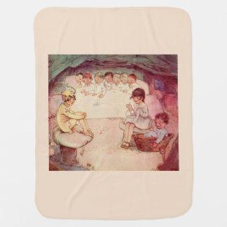 Peter Pan on Mushroom Wendy Sewing Lost Boys Baby Blanket