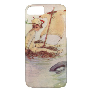Peter Pan original book painting iPhone 7 Case
