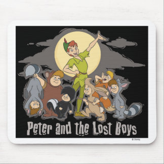 Peter Pan Peter Pan and the Lost Boys Disney Mouse Pad