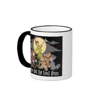 Peter Pan Peter Pan and the Lost Boys Disney zazzle_mug