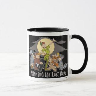 Peter Pan Peter Pan and the Lost Boys Disney Mug
