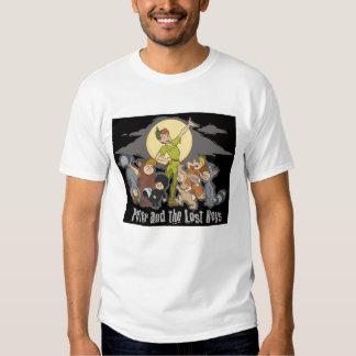Peter Pan Peter Pan and the Lost Boys Disney Shirt