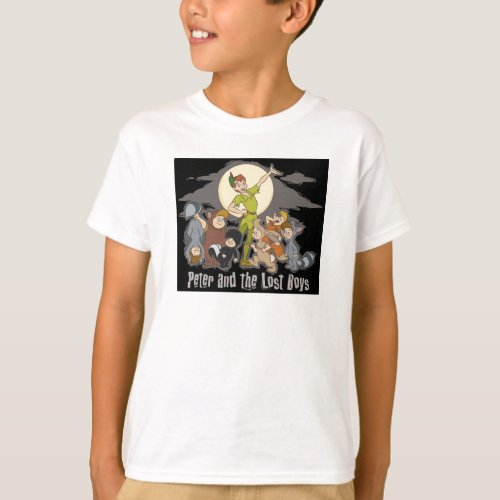 Peter Pan Peter Pan and the Lost Boys Disney T_Shirt