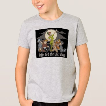 Disney Themed Peter Pan Peter Pan and the Lost Boys Disney T-Shirt