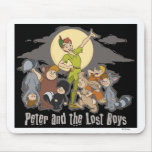 Peter Pan Peter Pan y los muchachos perdidos Disne Tapetes De Ratones