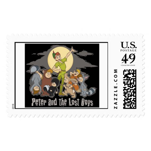 Peter Pan Peter Pan y los muchachos perdidos Sello Postal