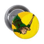 Peter Pan Pin Redondo De 2 Pulgadas