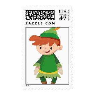 Peter Pan Postage Stamp