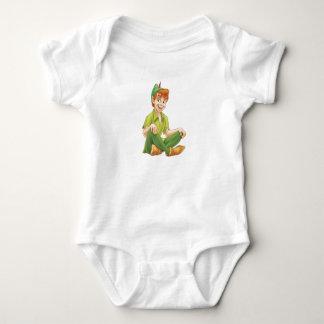 Peter Pan que se sienta Disney Body Para Bebé