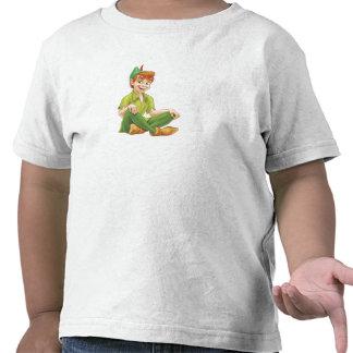 Peter Pan que se sienta Disney Camisetas