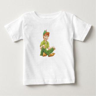 Peter Pan que se sienta Disney Playera De Bebé