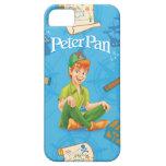 Peter Pan que se sienta iPhone 5 Cárcasa