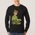 Peter Pan que se sienta Playeras