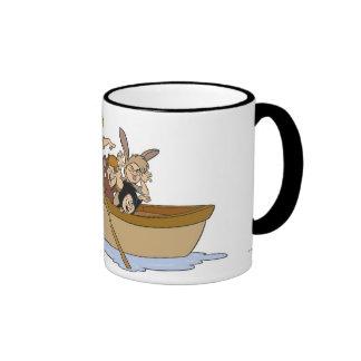 Peter Pan s Lost Boys in boat Disney Coffee Mug