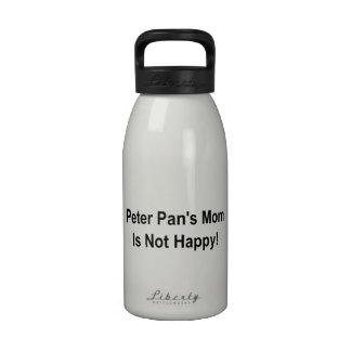 Peter Pan s Mom Is Not Happy Drinking Bottle