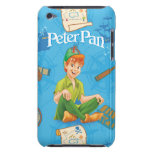 Peter Pan Sitting Down Barely There iPod Cases