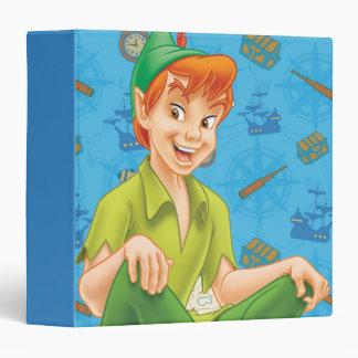 Peter Pan Sitting Down Binder