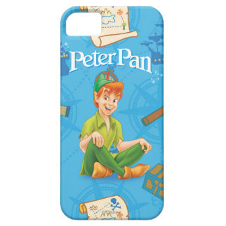 Peter Pan Sitting Down iPhone 5 Cases