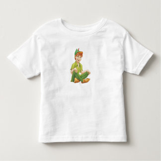 Peter Pan Sitting Down Disney Toddler T-shirt