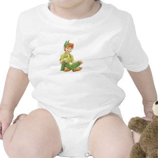 Peter Pan Sitting Down Disney Shirt