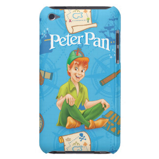 Peter Pan Sitting Down iPod Touch Case