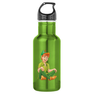 Peter Pan Sitting Down Stainless Steel Water Bottle