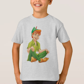 Peter Pan Sitting Down T-Shirt