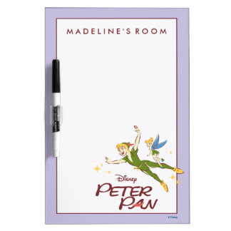 Peter Pan & Tinkerbell Dry-Erase Board