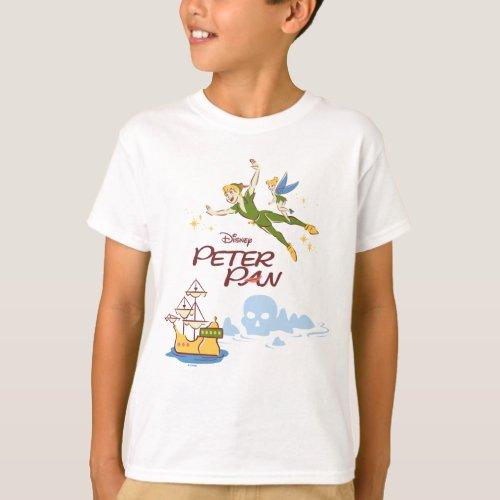 Peter Pan  Tinkerbell T_Shirt