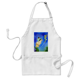 PETER PAN, WENDY, JOHN AND MICHAEL FLY AWAY ADULT APRON