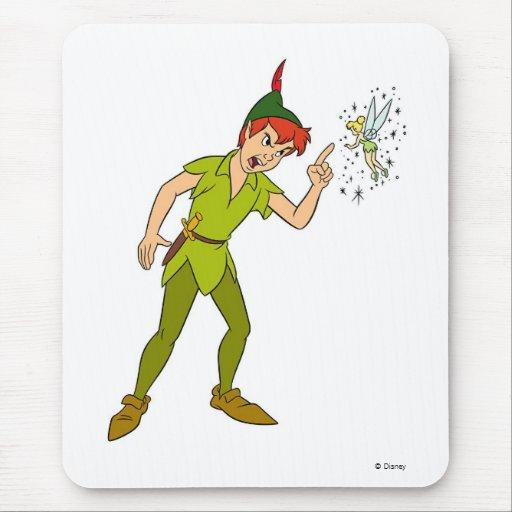 Peter Pan y Tinkerbell Disney Alfombrilla De Ratón