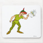 Peter Pan y Tinkerbell Disney Tapete De Ratón