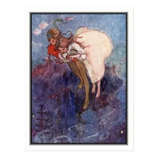 Peter Pan y Wendy de Alicia B. Woodward Postal