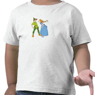 Peter Pan y Wendy Disney Camiseta