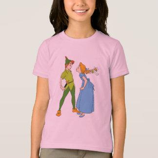 Peter Pan y Wendy Disney Playera