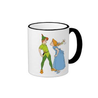 Peter Pan y Wendy Disney Taza De Dos Colores