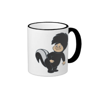Peter Pan's Lost Boy Skunk Disney Ringer Coffee Mug
