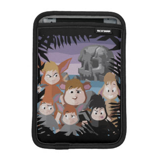 Peter Pan's Lost Boys At Skull Rock iPad Mini Sleeve