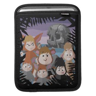 Peter Pan's Lost Boys At Skull Rock iPad Sleeves